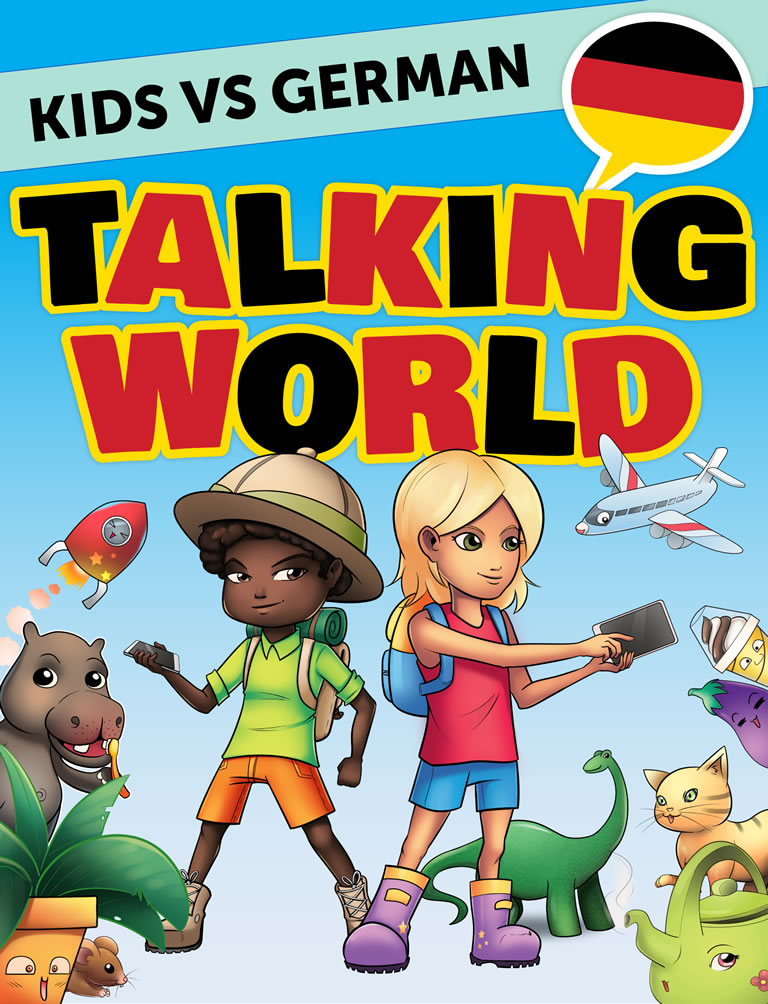 Kids vs German: Talking World