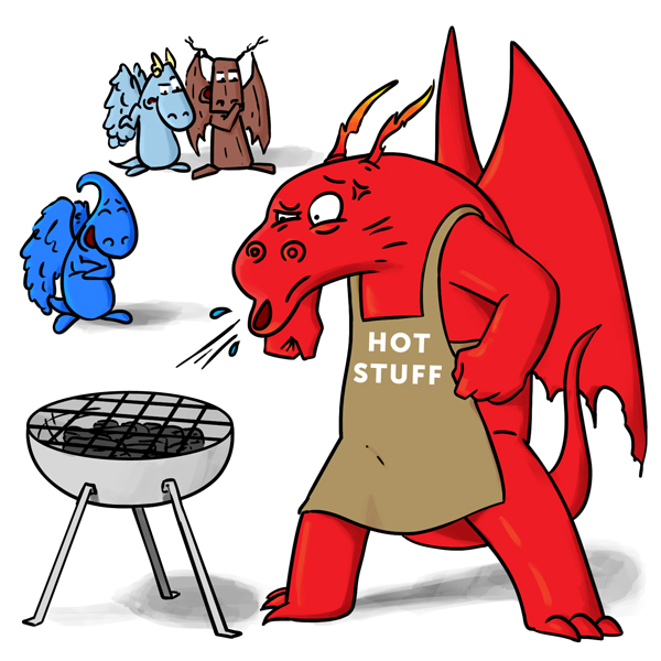 Dragons vs BBQ