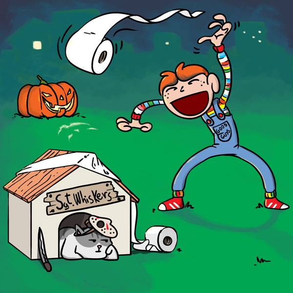 Sgt. Whiskers vs Halloween: Child's Play
