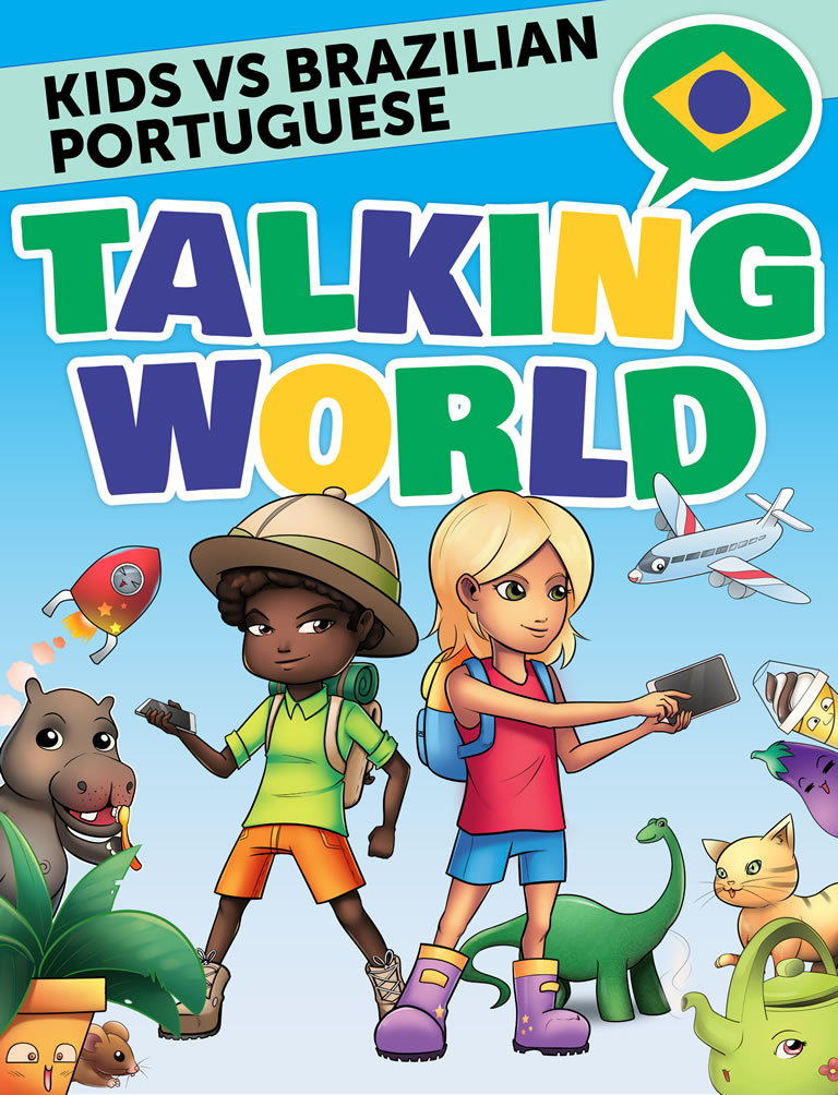 Kids vs Brazilian Portuguese: Talking World